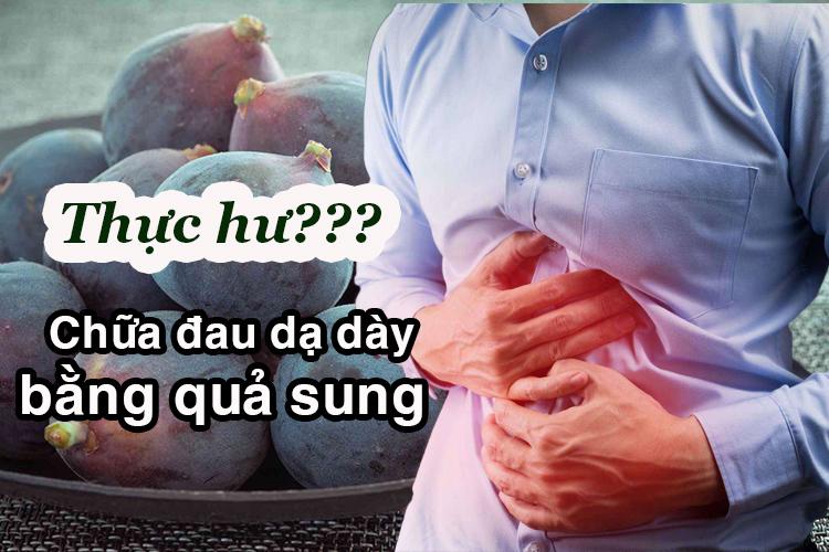 chua dau da day bang qua sung