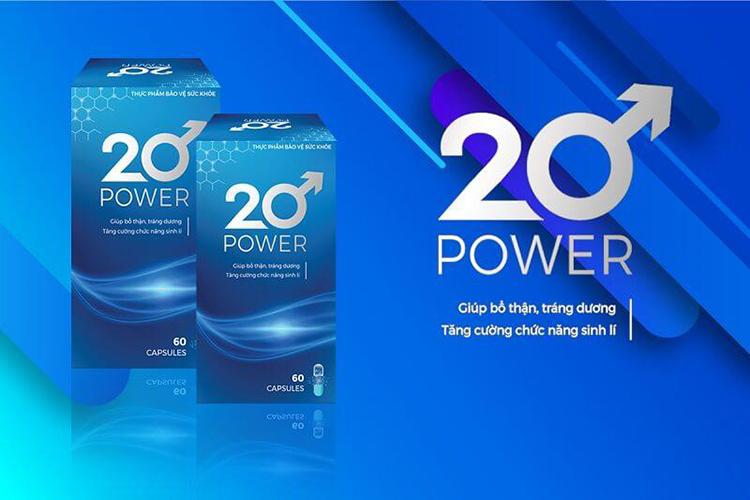 Viên Uống Tăng Sinh Lý 20 Power Và Những Điều Bạn Cần Biết!