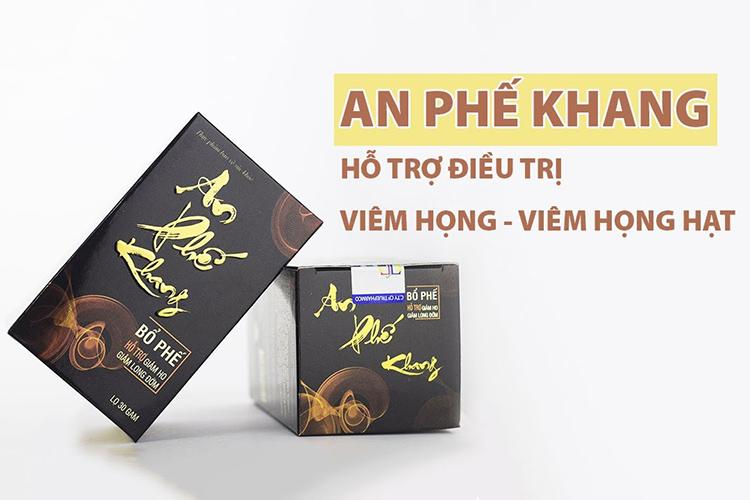 An Phế Khang – Cứu Tinh Cho Viêm Họng, Viêm Amidan